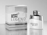 Premium 3D visualisierung Montblanc Legend Spirit 30ml
